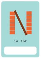 alfabeto livro n