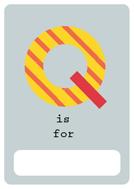 alfabeto livro q