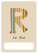 livro do alfabeto r