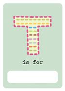 alfabeto livro t