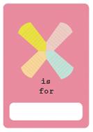 alfabeto livro x