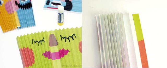 tutorial abanicos de papel