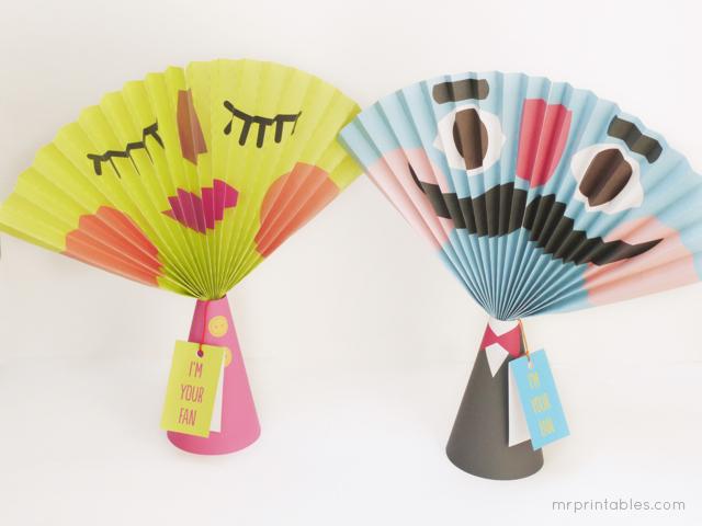 Tutorial-DIY abanicos de papel