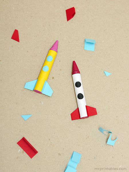 crayon rocket