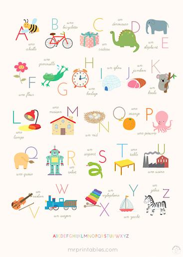 printable alphabet posters mr printables. Black Bedroom Furniture Sets. Home Design Ideas