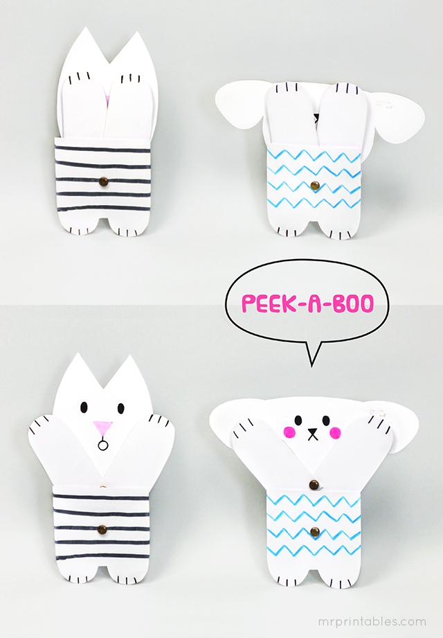 Peekaboo Toy Jointed Dolls Mr Printables