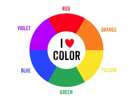 Printable Color Wheel For Kids