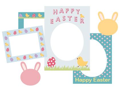 Free Printable Easter Borders
