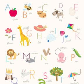 Printable Alphabet Posters